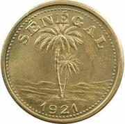 50 centimes Chambre de commerce Ziguinchor – avers