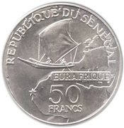 50 francs Eurafrique – avers