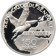 150 francs (Eurafrique) – avers