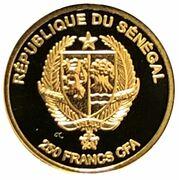 250 Francs CFA (Diamond) – avers