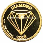 250 Francs CFA (Diamond) – revers