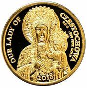 250 francs CFA (Notre-Dame de Częstochowa) – revers
