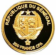 250 francs CFA (Capteur de rêves) – avers