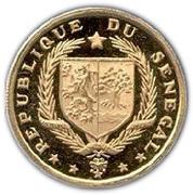 25 francs (8ème anniversaire de l'indépendance) – avers