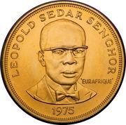 2500 francs (Eurafrique) – revers