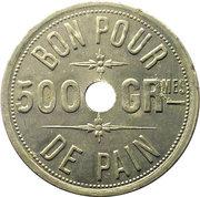 500 Grammes de Pain, Boulangerie Lacoste et Cie – revers