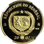 25 000 francs (Essai, guépard) – avers