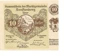 10 Heller (Senftenberg) – avers