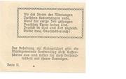 10 Heller (Senftenberg) – revers