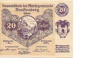 20 Heller (Senftenberg) – avers