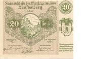 20 Heller (Senftenberg) -  avers