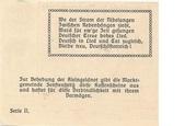20 Heller (Senftenberg) -  revers