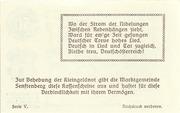 50 Heller (Senftenberg) – revers