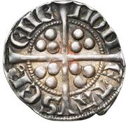 Esterlin - Waleran II de Luxembourg – revers