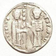 Serbia (1st Kingdom)-AR Dinar 1243-1276 AD  King: Stefan Uros I – avers