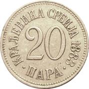 20 para - Milan I – revers