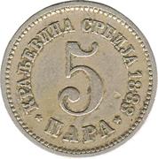 5 para - Milan I – revers
