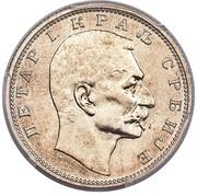 1 dinar - Pierre I -  avers