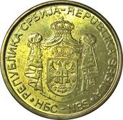 2 Dinara (République) – avers