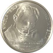 100 Dinara - Nikola Tesla (Remote Control) – revers
