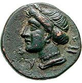 Bronze Æ16 (Sesamos) – revers