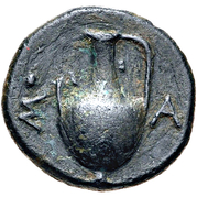 Bronze Æ12 (Sestos) – revers