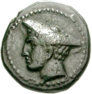Bronze Æ16 (Sestos) – avers