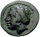 Bronze Æ12 (Sestos) – avers
