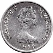 1 cent - Elizabeth II (FAO) – avers