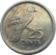25 cents -  avers