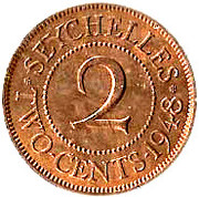 2 cents - George VI – revers