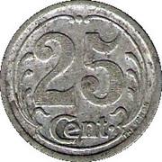 25 Centimes - Union Commerciale & Industrielle - Sézanne [51] – revers