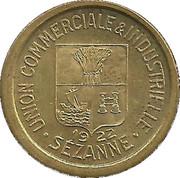 10 Centimes - Union Commerciale & Industrielle - Sézanne [51] - ESSAI – avers