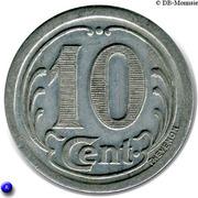 10 Centimes - Union Commerciale & Industrielle - Sézanne [51] – revers