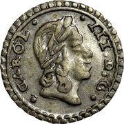 1/2 Tari - Carlo III – avers