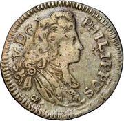 1 tari - Filippo V – avers
