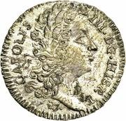 2 Tari - Carlo III (VI) – avers