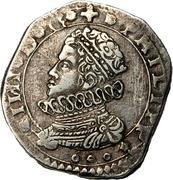 3 tari - Filippo IV – avers