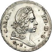 6 tari - Carlo III – avers
