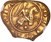 10 Tari - Carlo I d'Angio - Messina Mint – avers