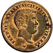 2 Grani - Ferdinando II – avers