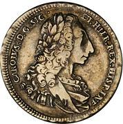 12 tari, 1 scudo - Carlo (Coronation) – avers
