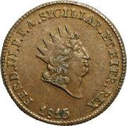 5 Grani - Ferdinando III – avers