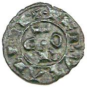 Denier - Conrad I King of Sicily and Jerusalem – avers