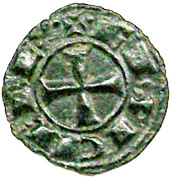 Denier - Conrad I King of Sicily and Jerusalem – revers
