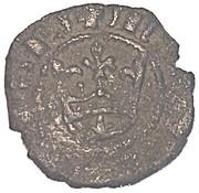 Denaro - Maria di Sicilia e Martino il giovane (con corona) – avers