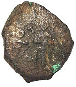 1 follaro - Ruggero II (POΓ) – avers