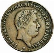 5 Grani - Ferdinando II – avers