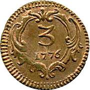 3 Piccoli, 3 Cavalli - Ferdinando III – revers