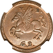 2 grani Ferdinand III – revers